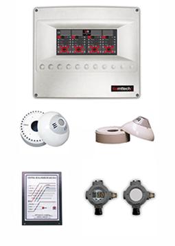 Sistema De Detección De Monóxido Y Gas Komttech