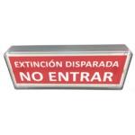 RÓTULO DE EXTINCION DISPARADA 24 V